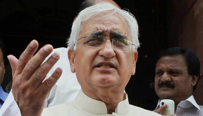 Congress distances itself from Salman Khurshid's 'blood of Muslims' remark, says it disagrees in toto