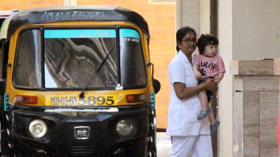 Taimur Ali Khan visits aunt Amrita Arora sans Kareena Kapoor– See pics