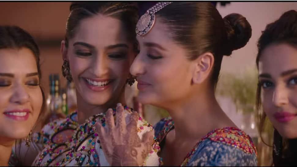 Veere Di Wedding Trailer.Veerey Di Wedding Trailer Kareena Sonam Swara And Shikha S Girl