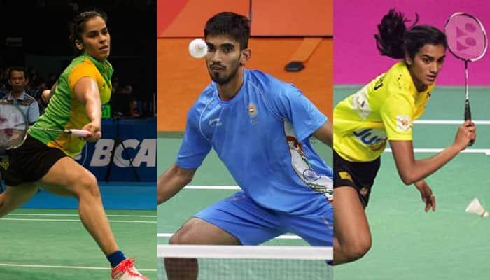 Saina, Sindhu, Srikanth enter second round of Asia Badminton Championship