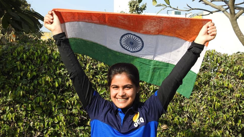 Manu Bhaker, Om Prakash Mitharwal finish 4th in 10m mixed team air pistol event at ISSF World Cup