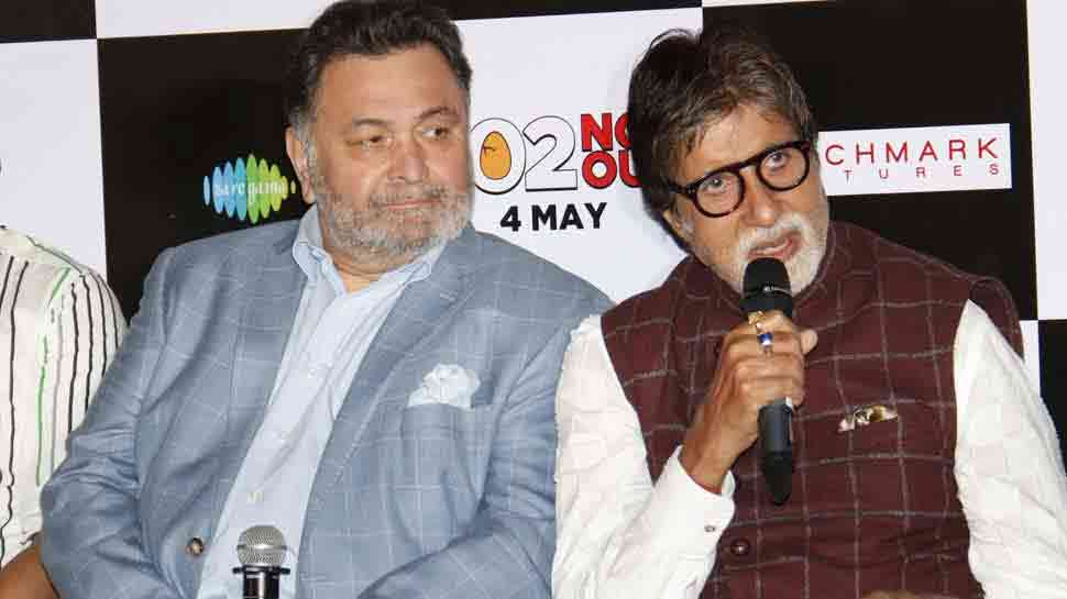 Amitabh Bachchan, Rishi Kapoor relive old moments at Opera House