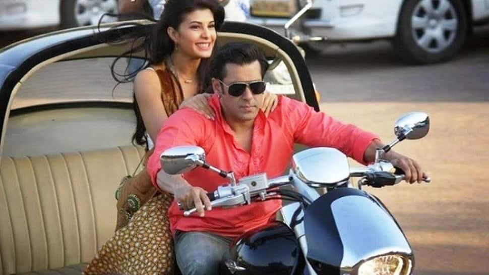 Salman Khan takes Jacqueline Fernandez on a bike ride in Kashmir—Watch video