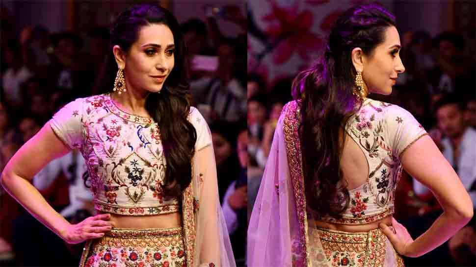Karisma Kapoor rule the ramp in this ethnic ensemble at Asian Designer Week  — Photos inside