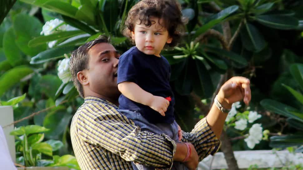 Taimur Ali Khan enjoys a poolside play date with cousin Inaaya Naumi Khemu- See pics