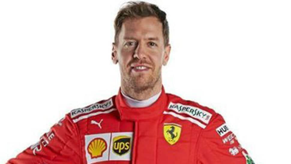 Three in a row for Vettel, Hamilton shares front Azerbaijan Grand Prix row