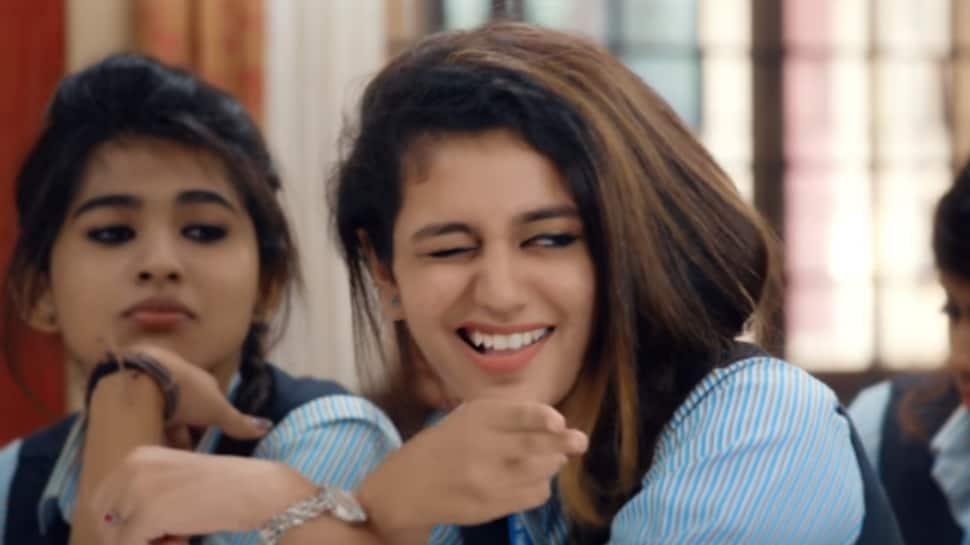 Priya Prakash Varrier's co-star gives her a love letter, her reaction is priceless