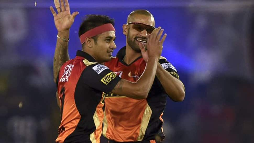 Bowlers shine once again as Hyderabad go top of 2018 IPL table