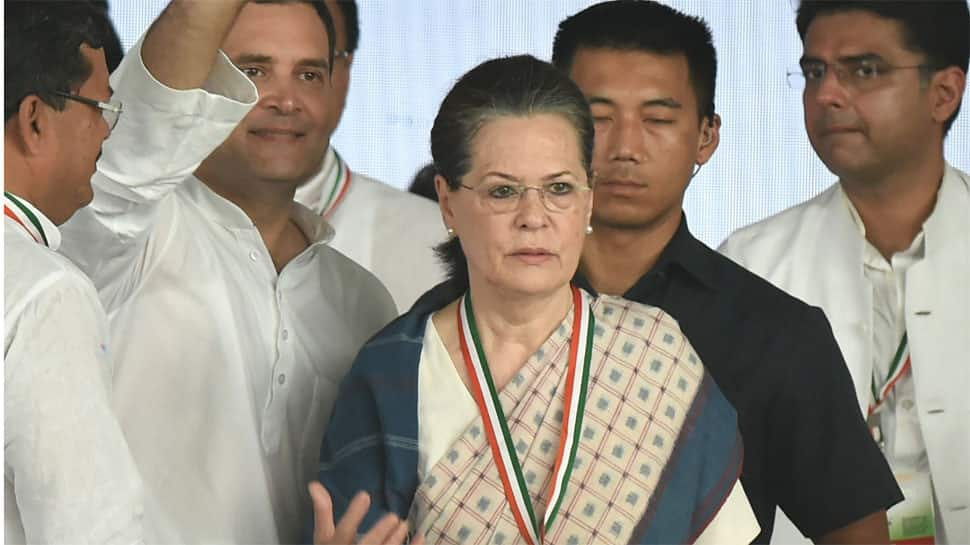 Sonia Gandhi urges people to unite under Rahul's leadership to defeat Modi government