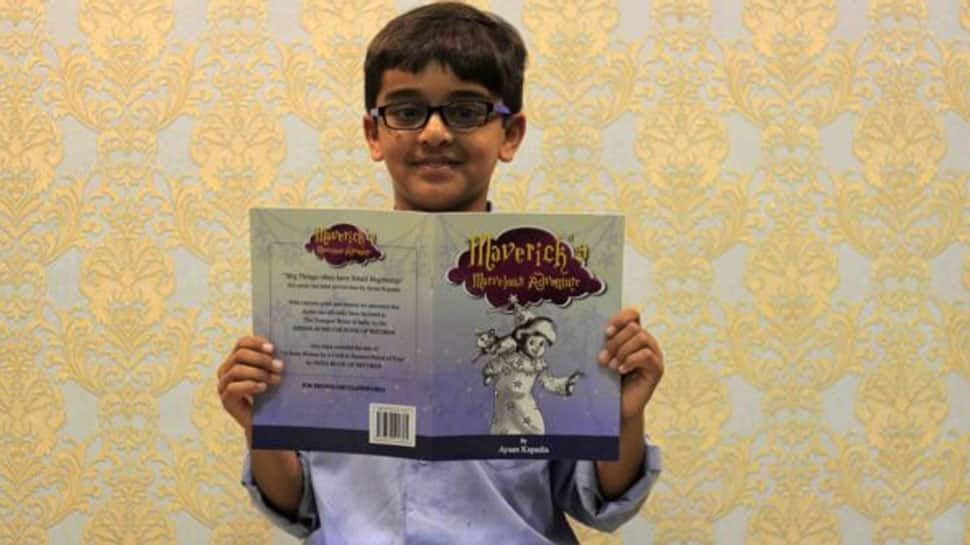 9-year-old Mumbai boy Ayaan Kapadia creates record, becomes 'youngest author in India'