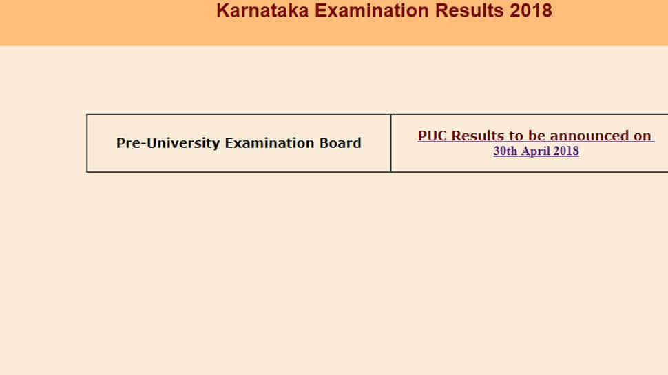Karnataka PUC Exam Results 2018 for PUC II Class 12 to be announced shortly at karresults.nic.in, kseeb.kar.nic.in, www.examresults.net | Steps to check grades