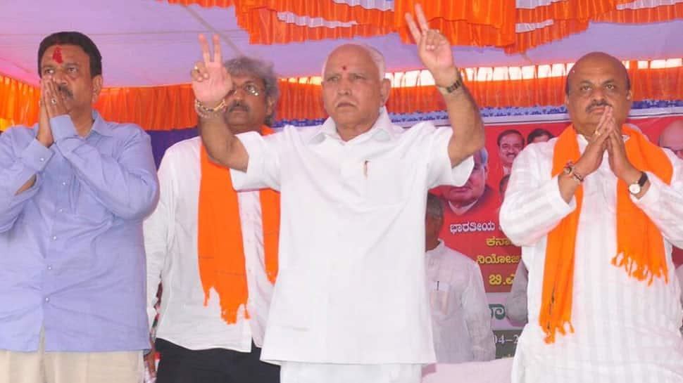 Riding on 'Modi wave', BJP will win Karnataka polls with absolute majority: Yeddyurappa