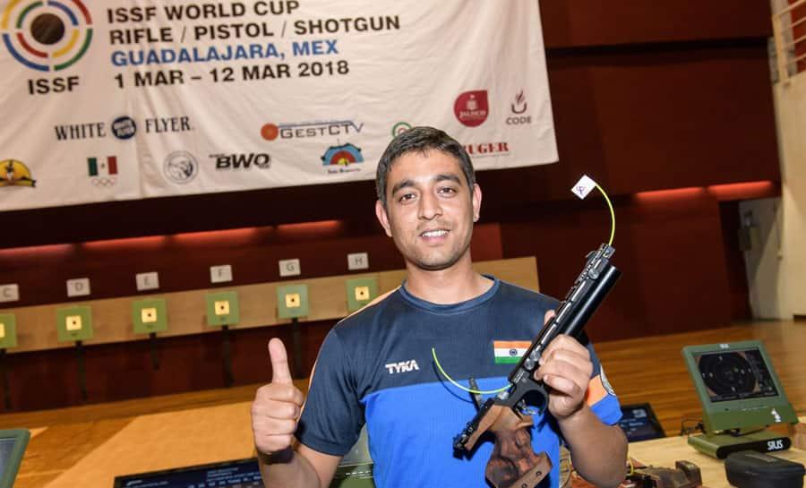 Shahzar Rizvi becomes World No.1 in 10m air pistol rankings