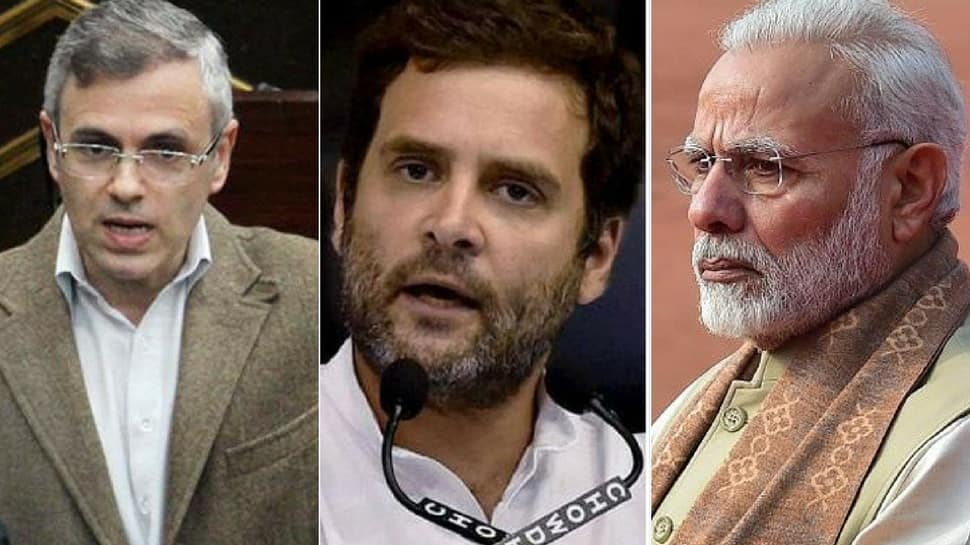 Accept PM Modi's challenge to speak without notes, then dare him to talk on rapes: Omar's advice to Rahul