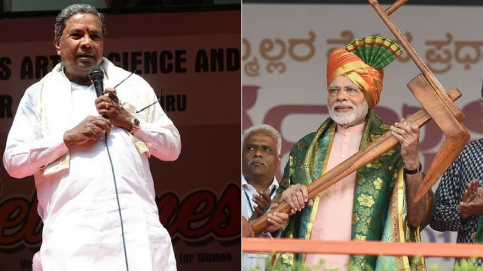 Now, Siddaramaiah challenges PM Modi to speak for 15 minutes on BSY using notes