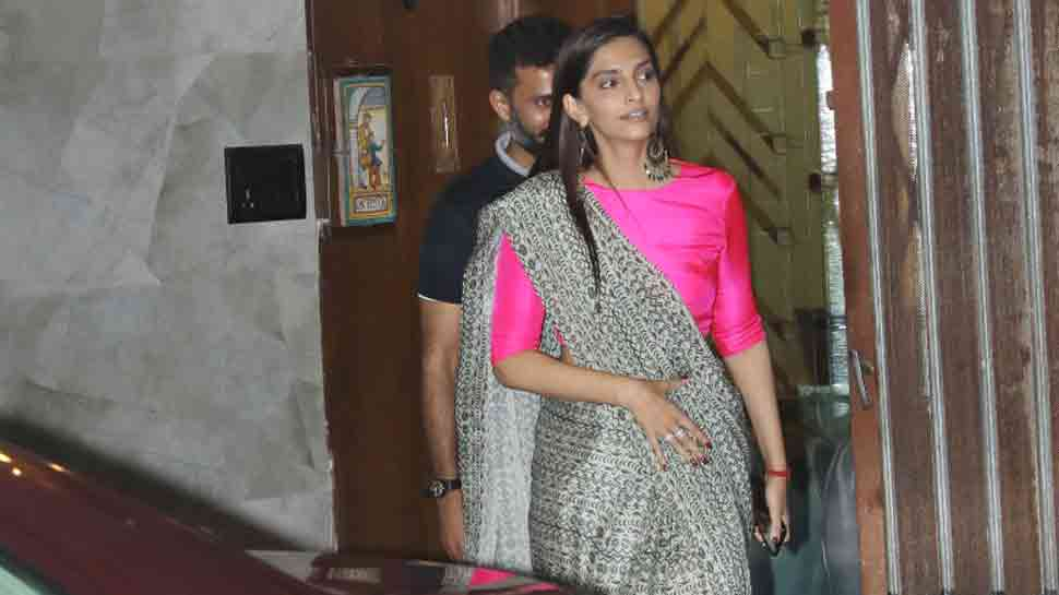 Bride-to-be Sonam Kapoor spotted with Anand Ahuja at Mumbai clinic — See photos