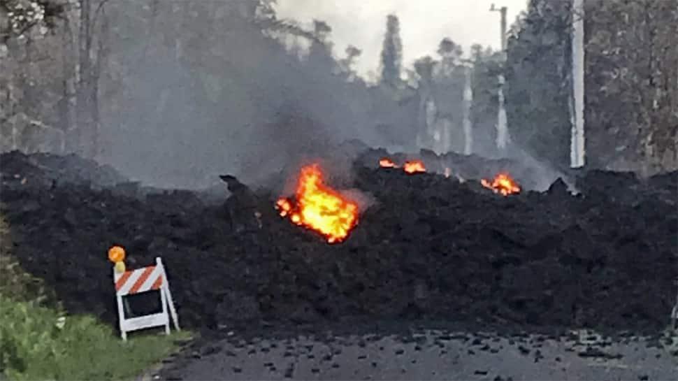Hawaii's Big Island on high alert as Kilauea volcano spews lava into residential areas