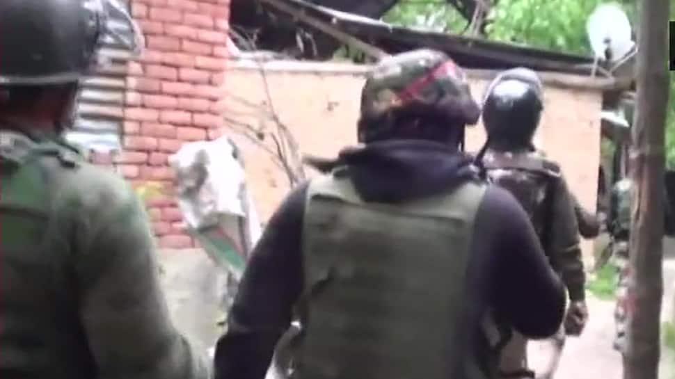 Four terrorists killed in Shopian encounter, 2 security personnel injured