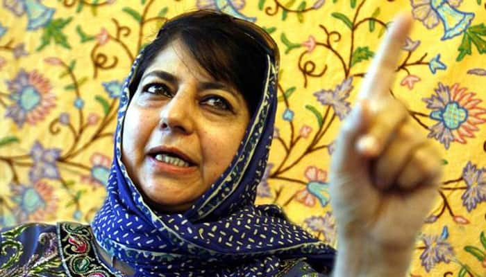 Both stones and guns are in the hands of poor, middle path needed: Mehbooba Mufti on Shopian encounter and clashes