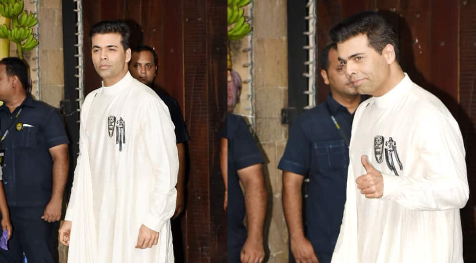 Karan Johar's look for Sonam Kapoor's Mehendi can give the royals a run for their money-See Pics