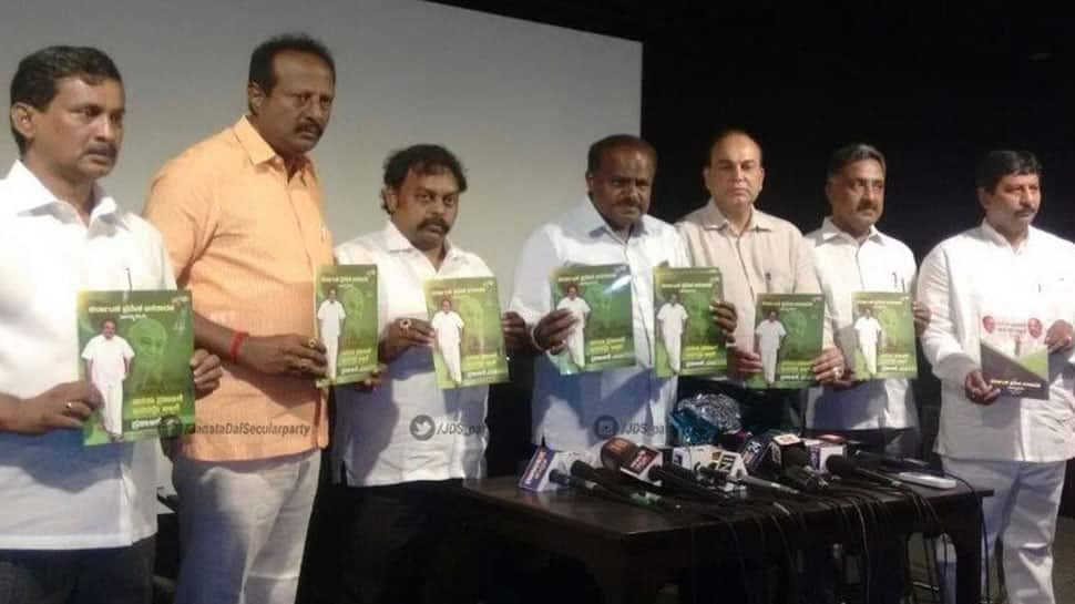 Karnataka polls: JD(S) releases manifesto, promises farm loan waiver, offers sops to women
