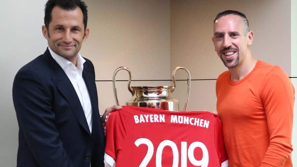 Franck Ribery signs Bayern Munich contract extension