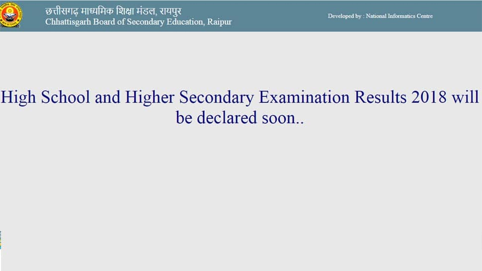 Chhattisgarh CGBSE Class 10 Results 2018, CGBSE Class 12 Results 2018 out at 10 today: Check toppers list and pass percentage at cgbse.nic.in