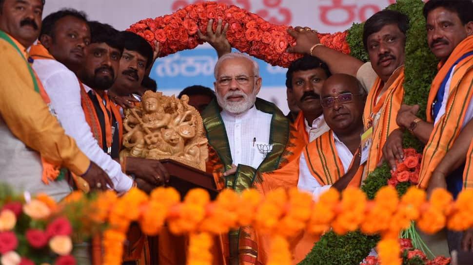 Karnataka polls: Narendra Modi attacks Rahul Gandhi over 'ready to be PM' remark
