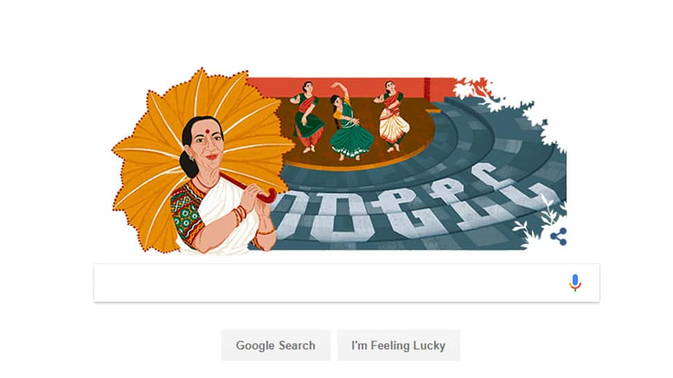 Google Doodle honours legendary dancer and Padma awardee Mrinalini Sarabhai