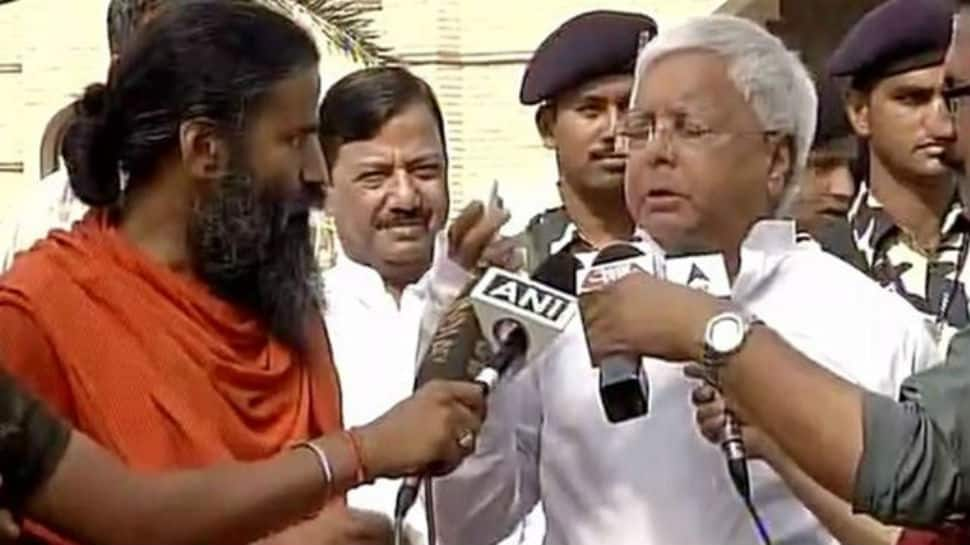 Lalu gets bail on health grounds, Ramdev suggests yoga