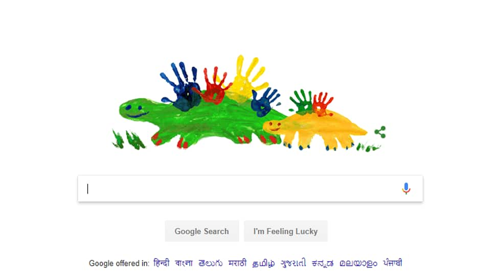 Google celebrates motherhood with special Mother's Day doodle