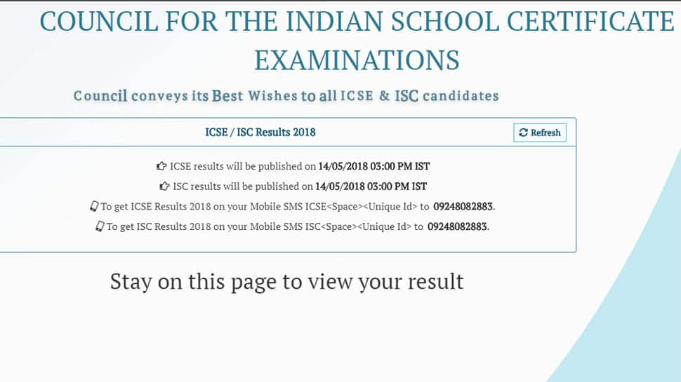 CISCE Results 2018 at cisce.org shortly: Wait to end soon for ICSE Class 10 results 2018, ISC Class 12 results 2018