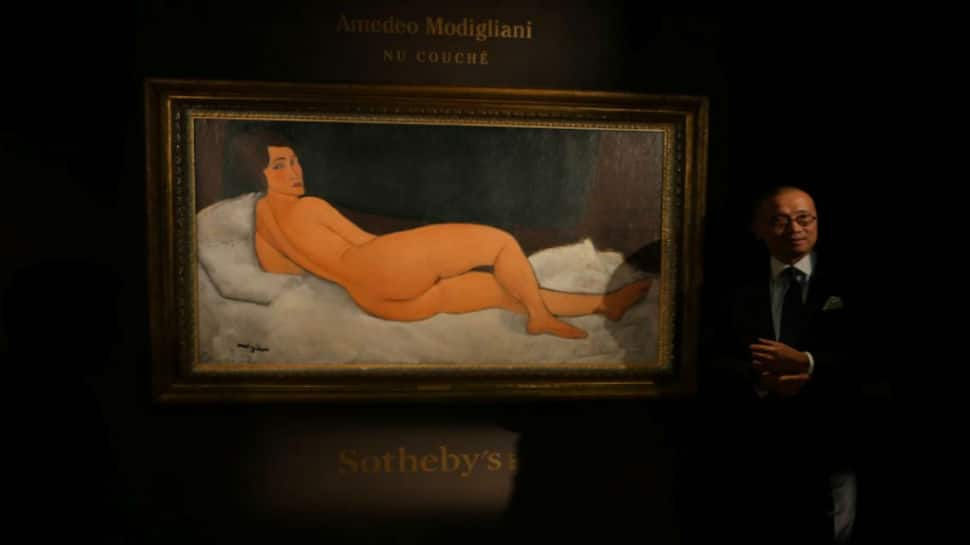 Nude portrait by Italian painter Modigliani fetches $157 million in auction
