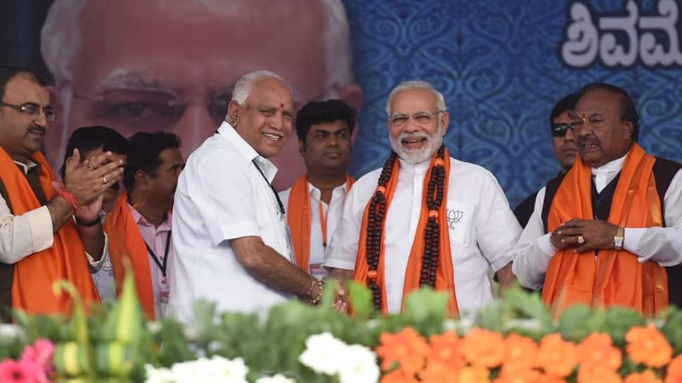 Karnataka assembly election results 2018: BJP within sniffing distance of the halfway mark, Congress routed