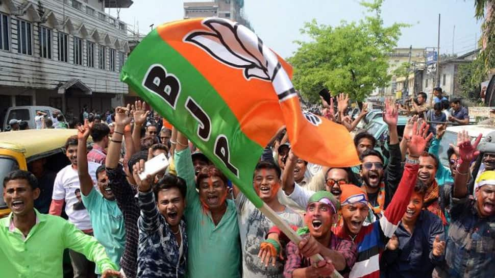 Karnataka election results: BJP crosses half-way mark in Karnataka, Congress concedes defeat