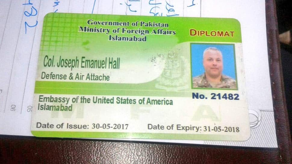 US diplomat involved in road accident in Pakistan returns home