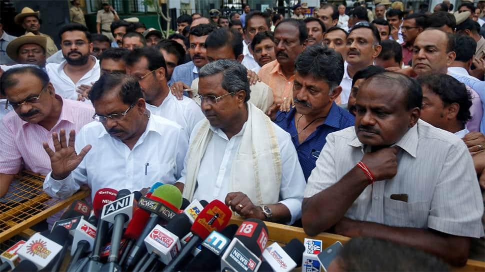Karnataka voters deliver hung Assembly, Congress-JDS alliance seeks power as BJP fumes