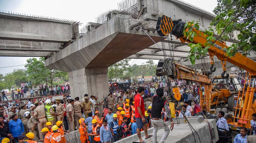 Varanasi flyover collapse kills at least 15, authorities ascertain cause of mishap