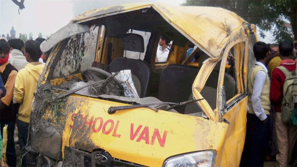 Bihar: 2 children dead, 11 injured after high voltage wire falls on school van in Baniapur