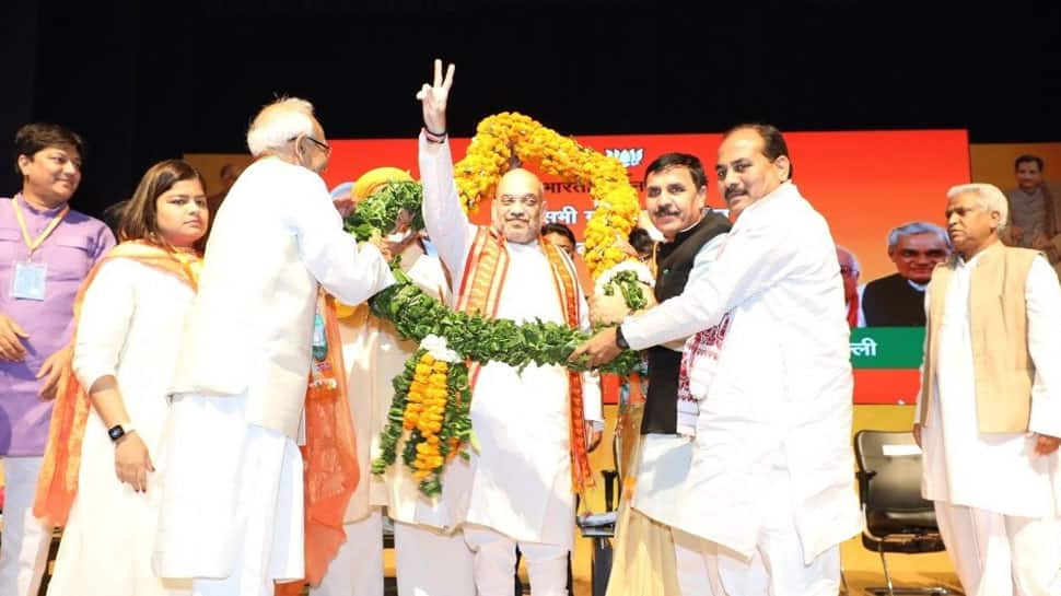 We should work to remain in power for next 50 years: Amit Shah to party workers