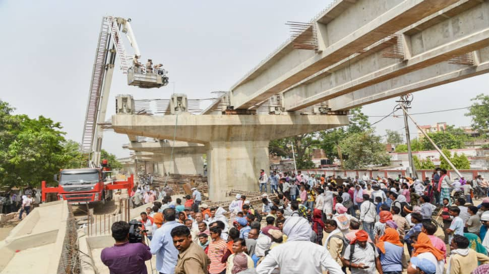 Varanasi flyover collapse: UP Setu Nigam's top officials could face severe action