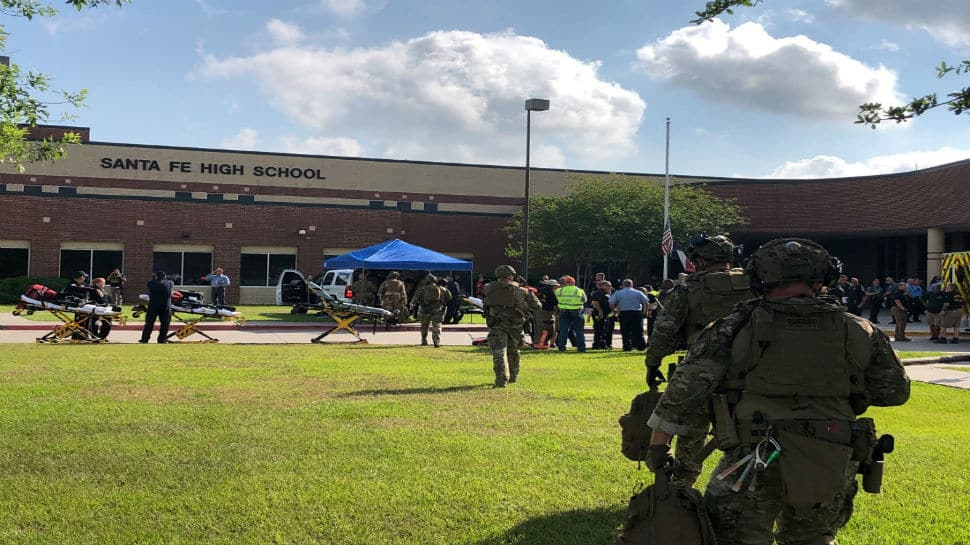At least eight dead after student open fires inside Texas high school: US media
