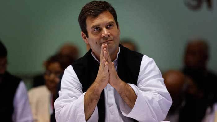 Rahul Gandhi conducts roadshow in Chhattisgarh