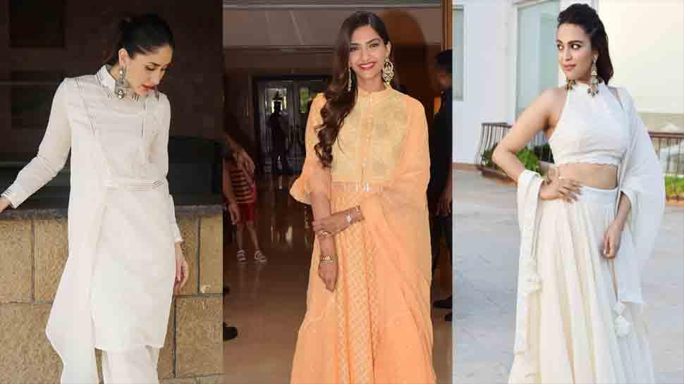 Kareena Kapoor, Sonam, Swara Bhaskar go traditional for Veere Di Wedding promotion — Do no miss