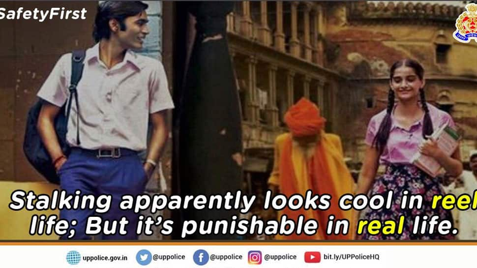 We'll be your 'Raanjhanaa' - stalk, follow and chase you: UP Police trolls eve-teasers