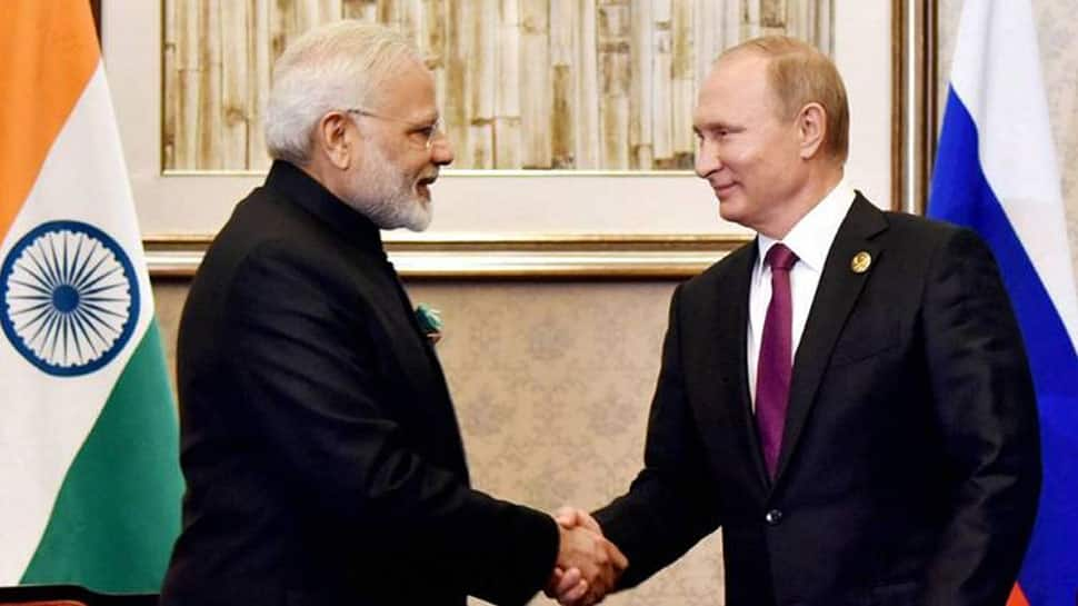 Talks with President Vladimir Putin will strengthen special and privileged strategic partnership between India and Russia: PM Narendra Modi