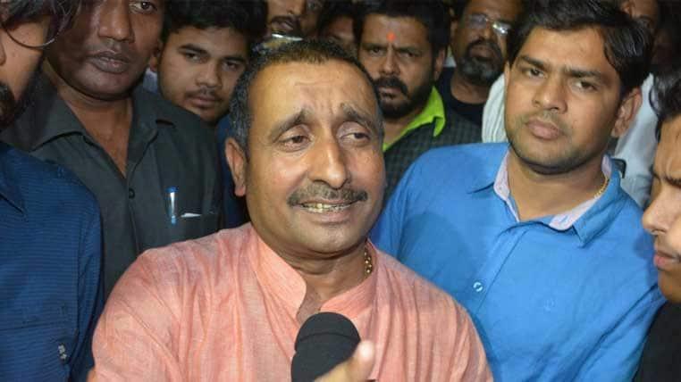 CBI books rape accused BJP MLA Kuldeep Singh Sengar for framing victim's father in arms act
