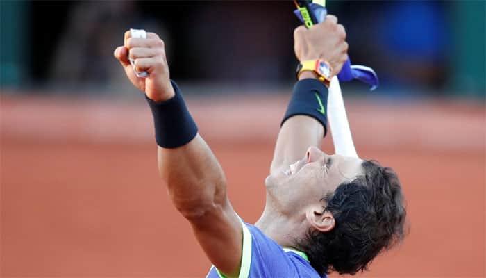 Rafael Nadal edges Alexander Zverev to win Italian Open in rainy Rome
