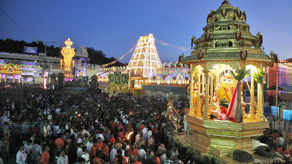 Tirumala chief priest accuses Andhra CM Chandrababu Naidu of misusing temple funds, removed