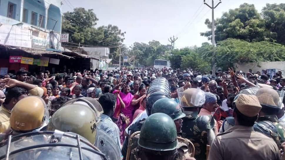 Anti-Sterlite protest in Tamil Nadu's Tuticorin turns violent, at least 9 killed